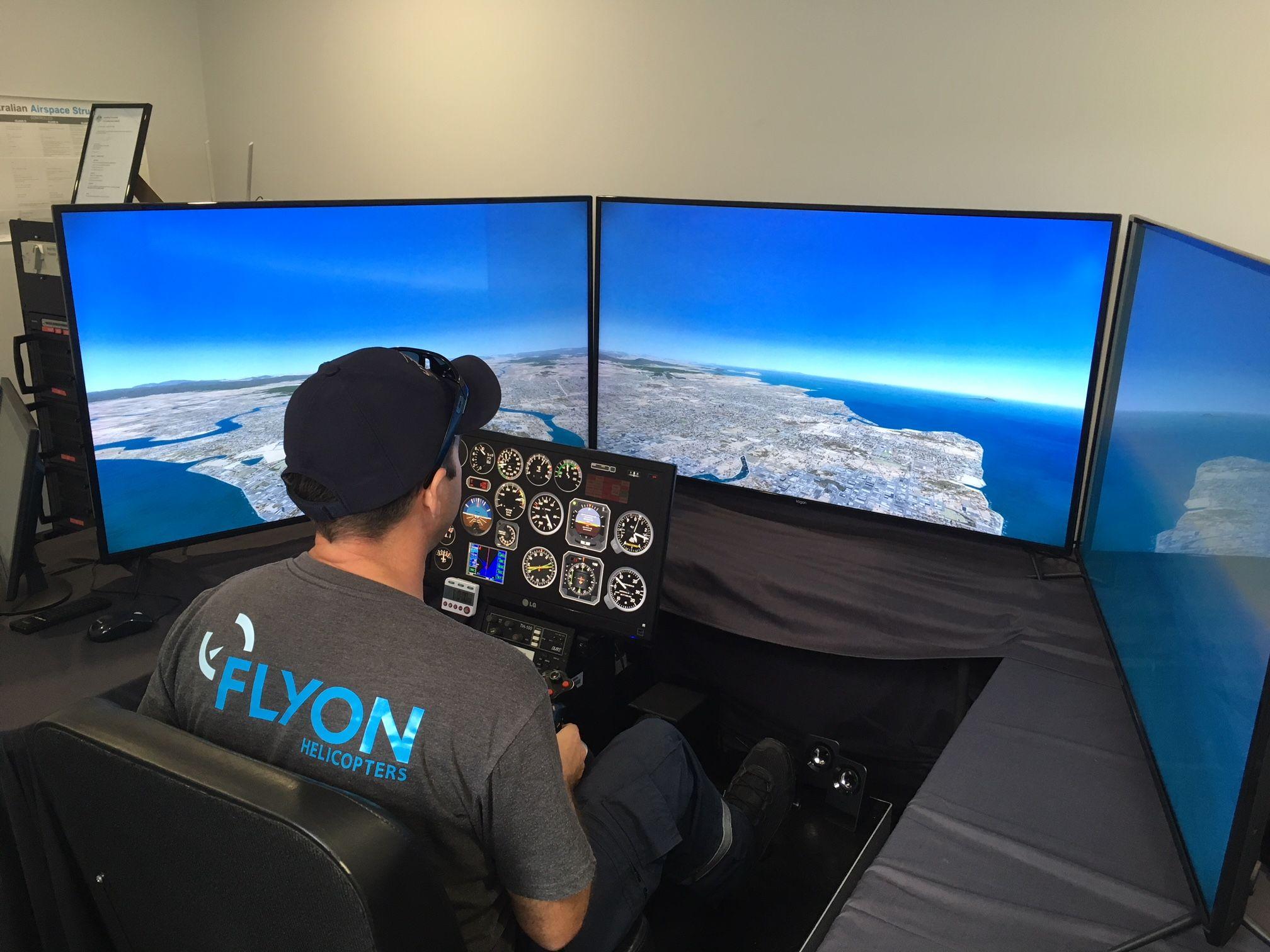 Flyon Flight Simulator