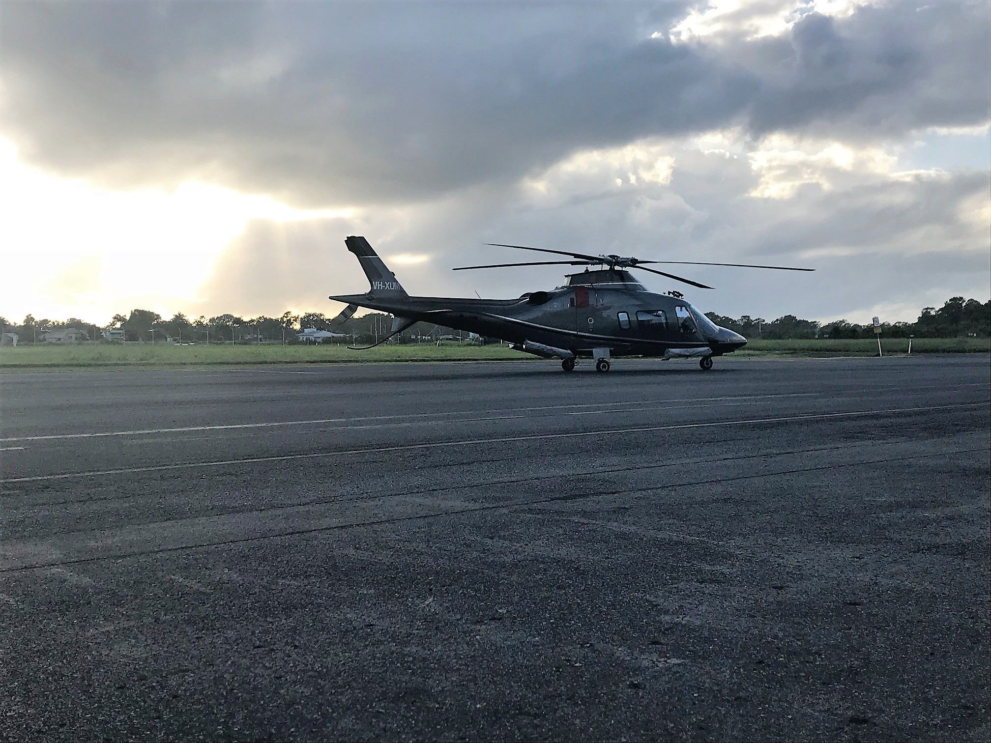 Our AW109 - VH XUM  - Float Capable
